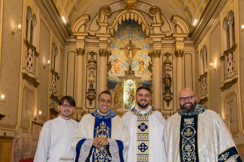 2 anos de Sacerdócio dos Padres Márcio, Fábio e Leonardo