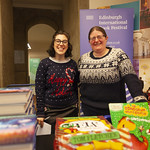 Book Festival staff at Assembly Rooms for Tom Fletcher: © Robin Mair |