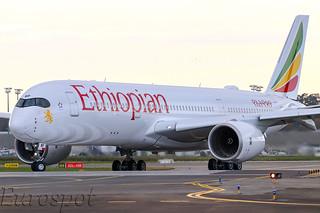 F-WZHD Airbus A350 Ethiopian