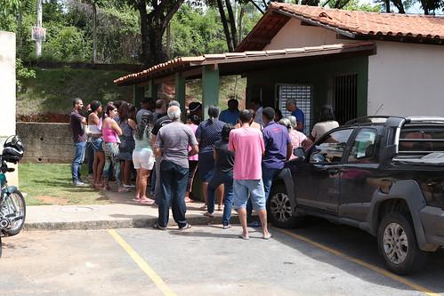Visita técnica para verificar possíveis descumprimentos contratuais desde a entrega de imóveis do conjunto de edifícios localizado no Bairro Jaqueline - Comissão de Administração Pública