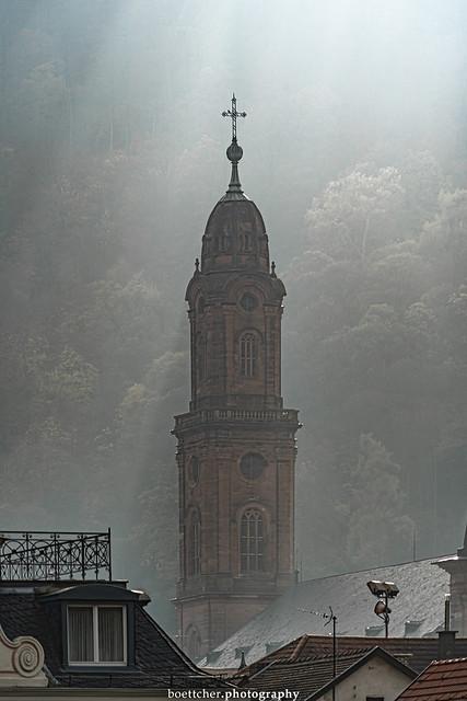 Heidelberg Church Tower in November 2019 V