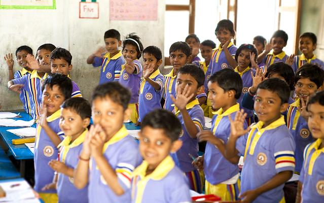 Schüler Varanasi Light of Love