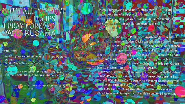 Bildschichten Yayoi Kusamas Punkteraum 02b