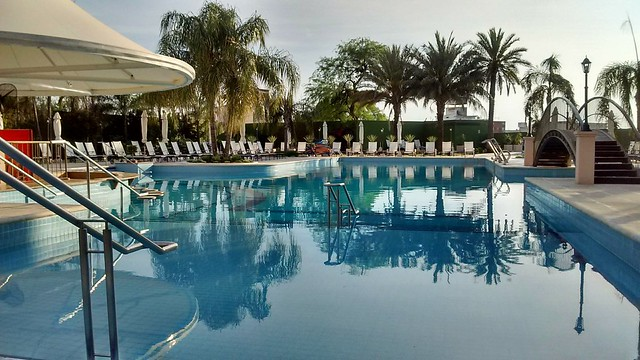 Y la número 1000 Termas de Río Hondo.  Hotel y Casino Amerian Carlos V