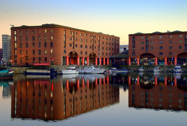 Albert Dock reflections