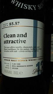 SMWS 85.57 - Clean and attractive