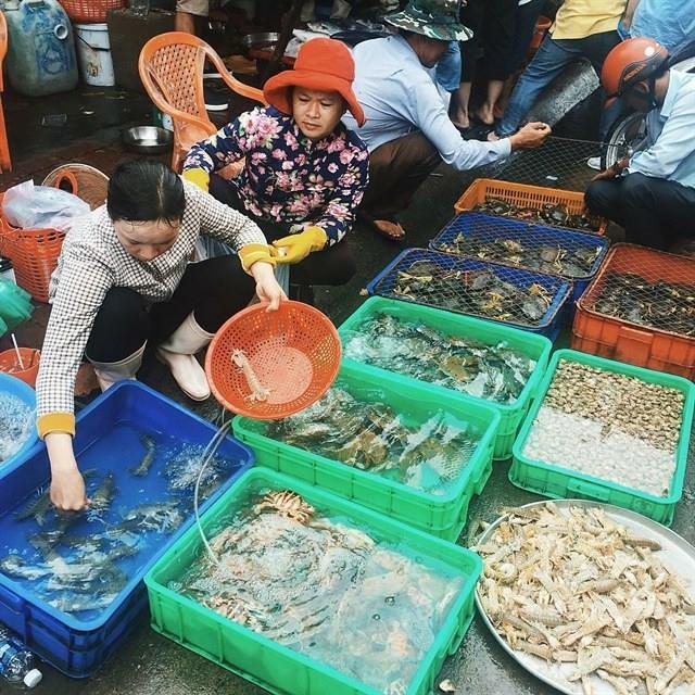 Phượt Vũng Tàu – Kinh nghiệm mua hải sản chợ Xóm Lưới (33)