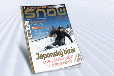 SNOW 121 (prosinec/leden 2019/20) - lyžování v Japonsku, World Ski test + 7x skipas zdarma!