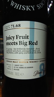 SMWS 71.68 - Juicy Fruit meets Big Red