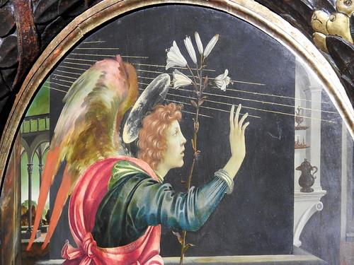 Milano - Palazzo Marino - Annunciazione di Filippino Lippi