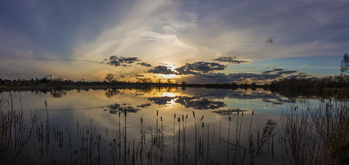 landscape canon6d uk sky panorama lake nature water clouds reflections outside outdoors cambridgeshire waterscape