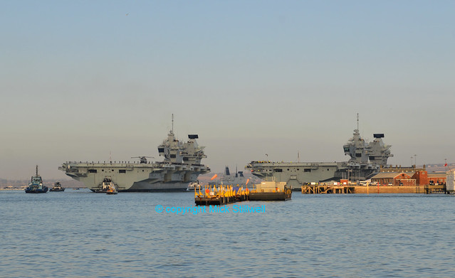 HMS Oueen Elizabeth & HMS Prince of Wales