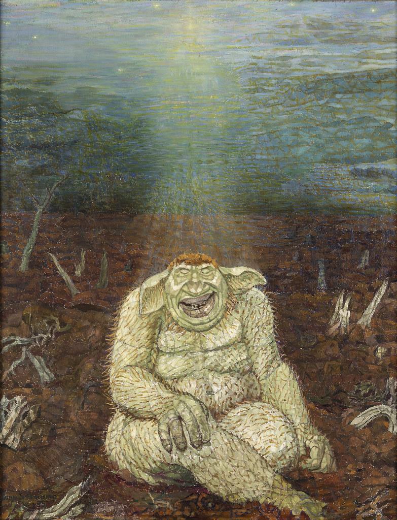 Gunhild Fryklund - Troll, 1935