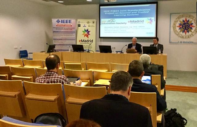 11_12_2019 Seminario eMadrid sobre «Estándares del IEEE en tecnologías educativas» / UNED