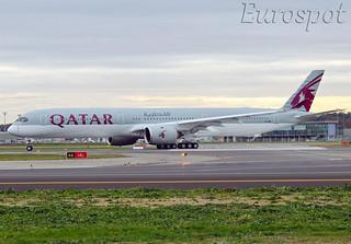 A7-ANK Airbus A350-1000 Qatar