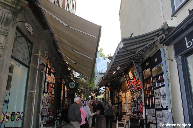 Vieux Quebec Rue du Trésor