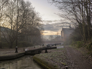 Walsall Canal Winter Morning