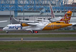 F-WWEF ATR72 Aurigny