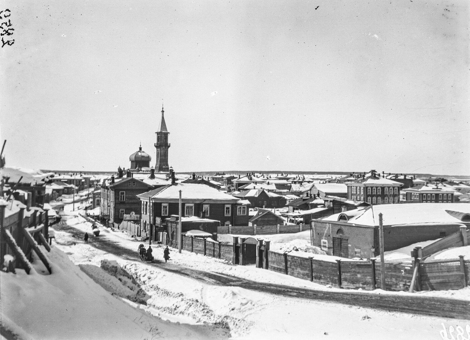 05. Томск. Татарский район с мечетью.