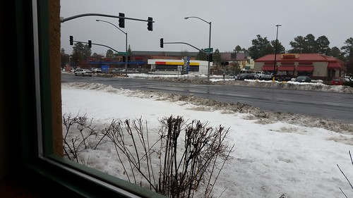 Flagstaff in the Snow