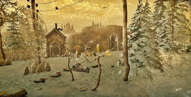 B & B 'Let it Snow'....(✿◠‿◠)
