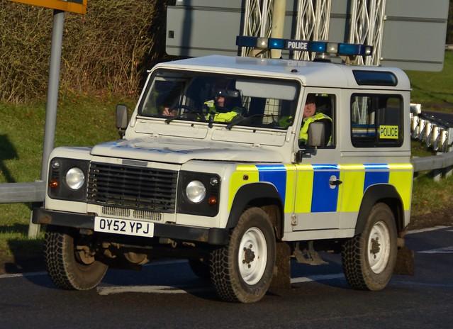 Hertfordshire Police Land Rover Defender Rural Response Vehicle