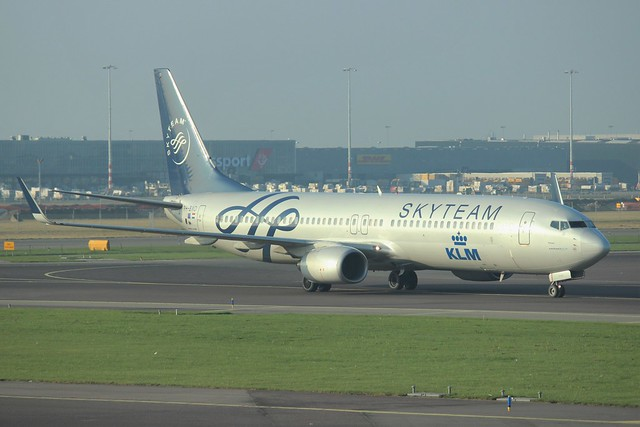 KLM Skyteam Livery Boeing 737-900 PH-BXO