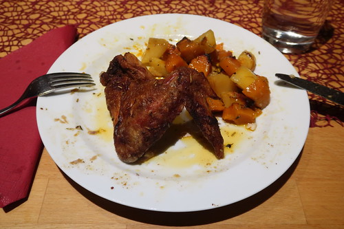 """""""Kürbis Kartoffel Hähnchen aus dem Ofen"""" (Nachschlag)"""