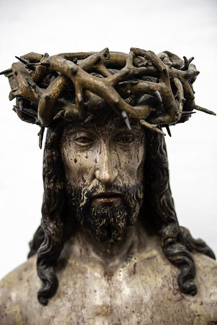 Christ on the Cold Stone - Zoutleeuw, Belgium
