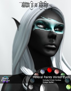 A&A Mineral Paints Winter Display