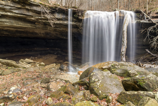 Big Laurel Falls, Virgin Falls SNA, White County, Tennessee