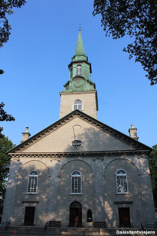 Vieux Quebec Catedral de la Santísima Trinidad