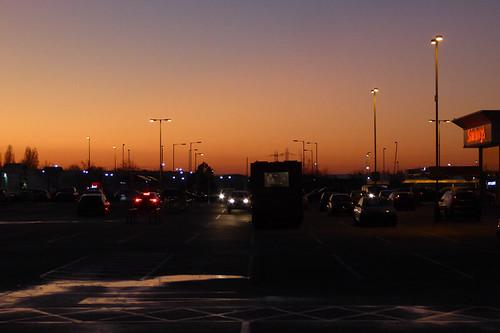Sainsbury's Sunset