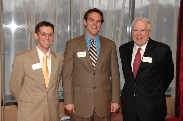 Presiding at 2008 Hoover-Wallace Dinner in Iowa City