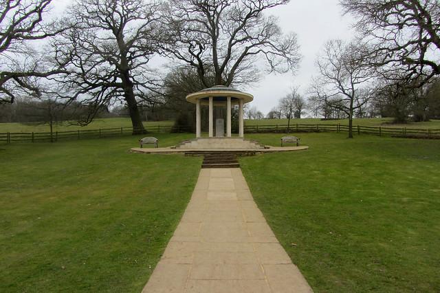 The Magna Carta Memorial, Runnymede, England