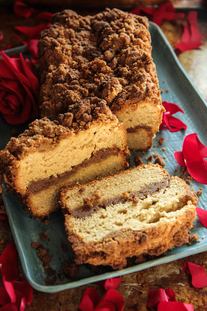 Coffee Cake Bread (vegan and gluten-free) from Heatherchristo.com