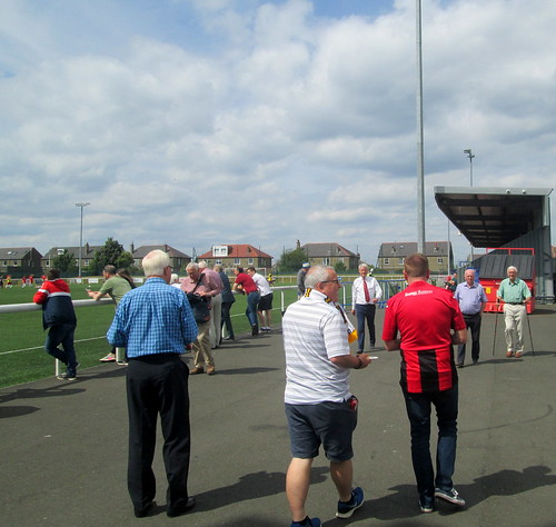 Ainslie Park Concourse and Stand