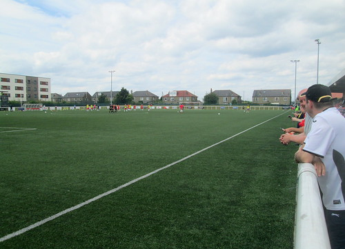 Ainslie Park, Edinburgh, Pitch Looking North