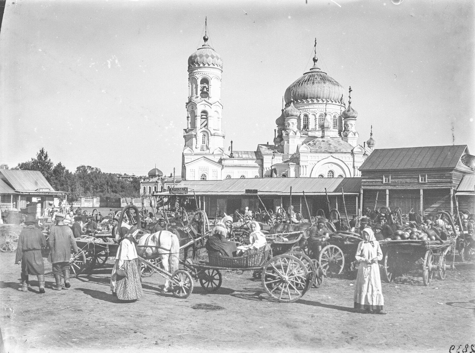 09. Барнаул. Церковь и местный рынок