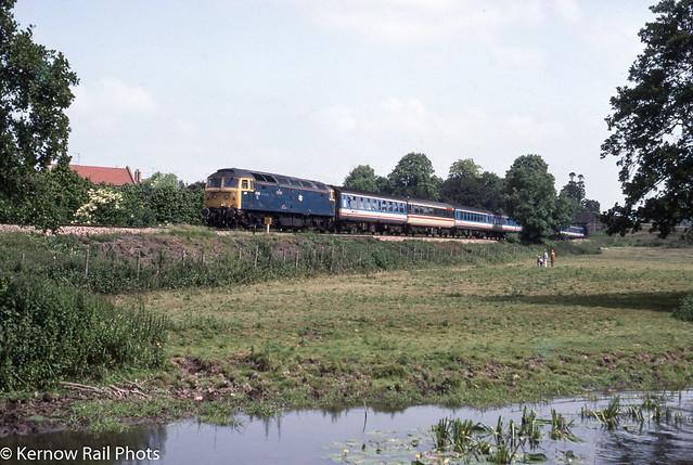 47423 'Sceptre' at Sherborne