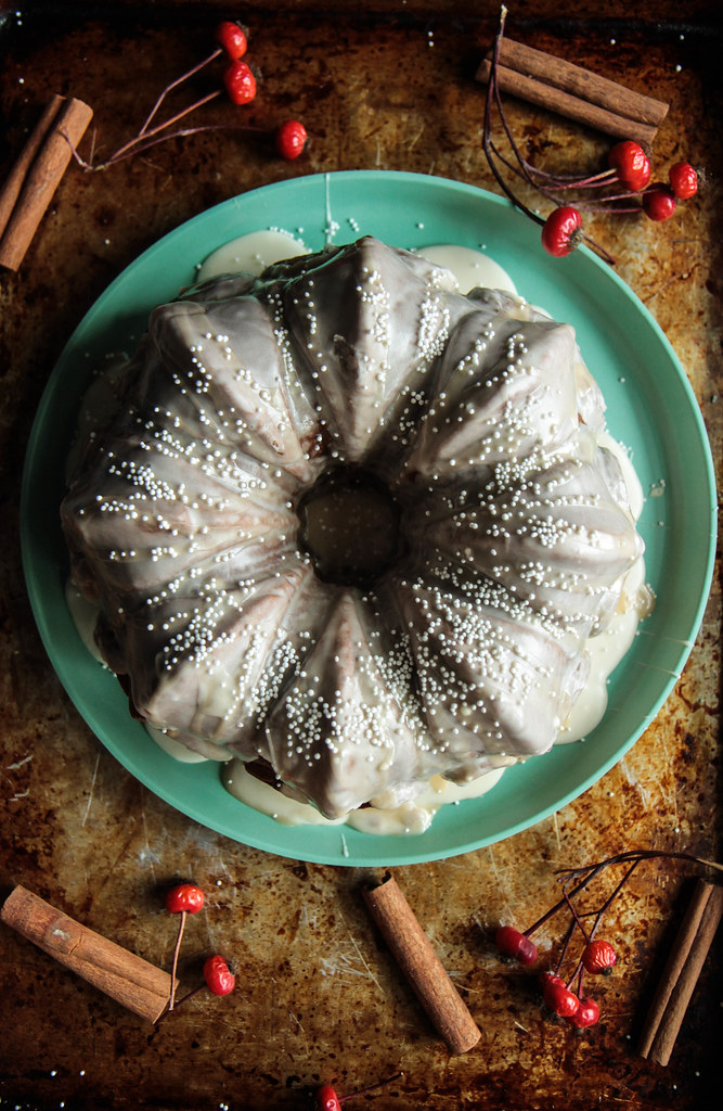 Purple Sweet Potato Spice Cake (Vegan and Gluten-free) from HeatherChristo.com