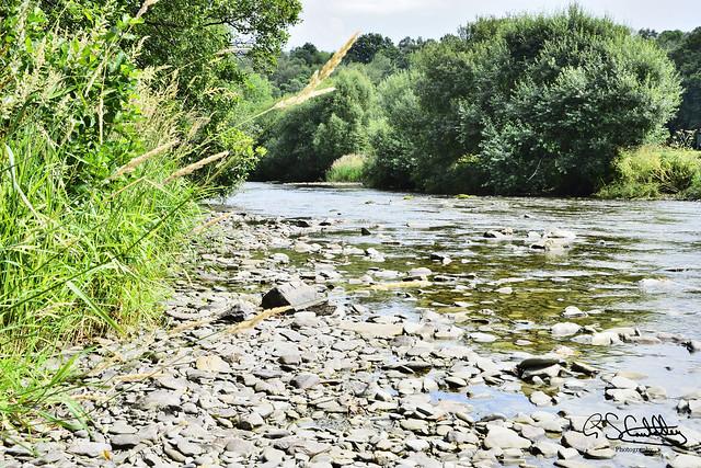 The River Wye, Rhayader, Powys, Wales 03/08/2019