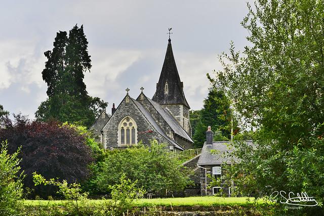 St Bride's Church, Powys, Radnorshire, Wales 03/08/19