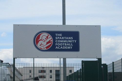 Ainslie Park, Edinburgh, Entrance Sign