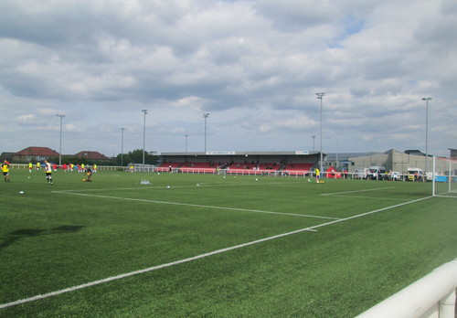 Ainslie Park, Edinburgh from Southwest Corner