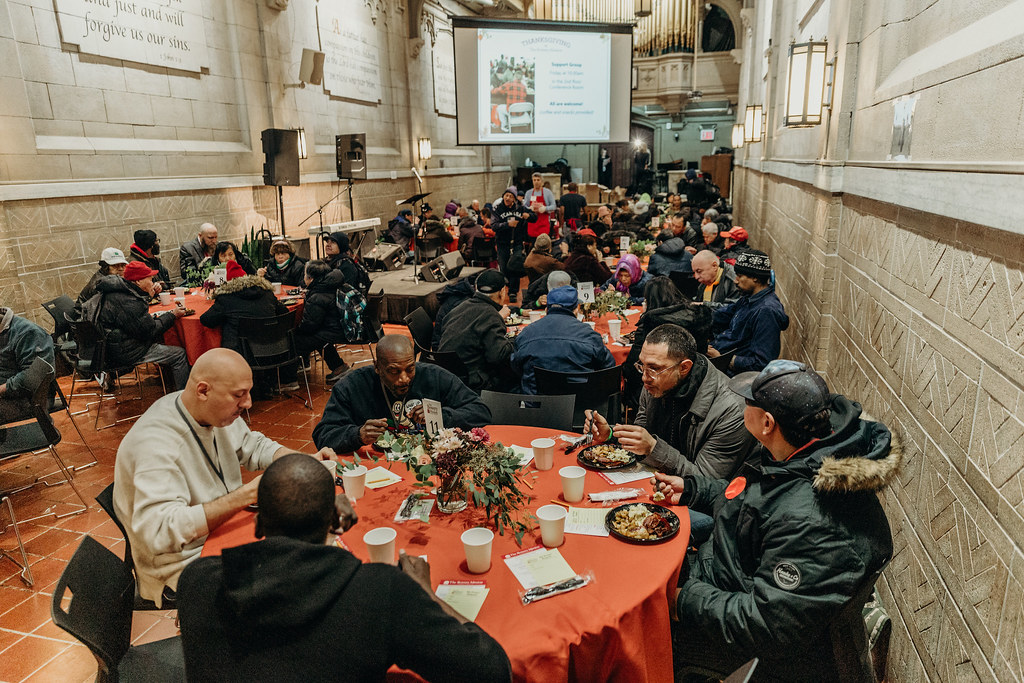 Thanksgiving 2019 at The Bowery Mission