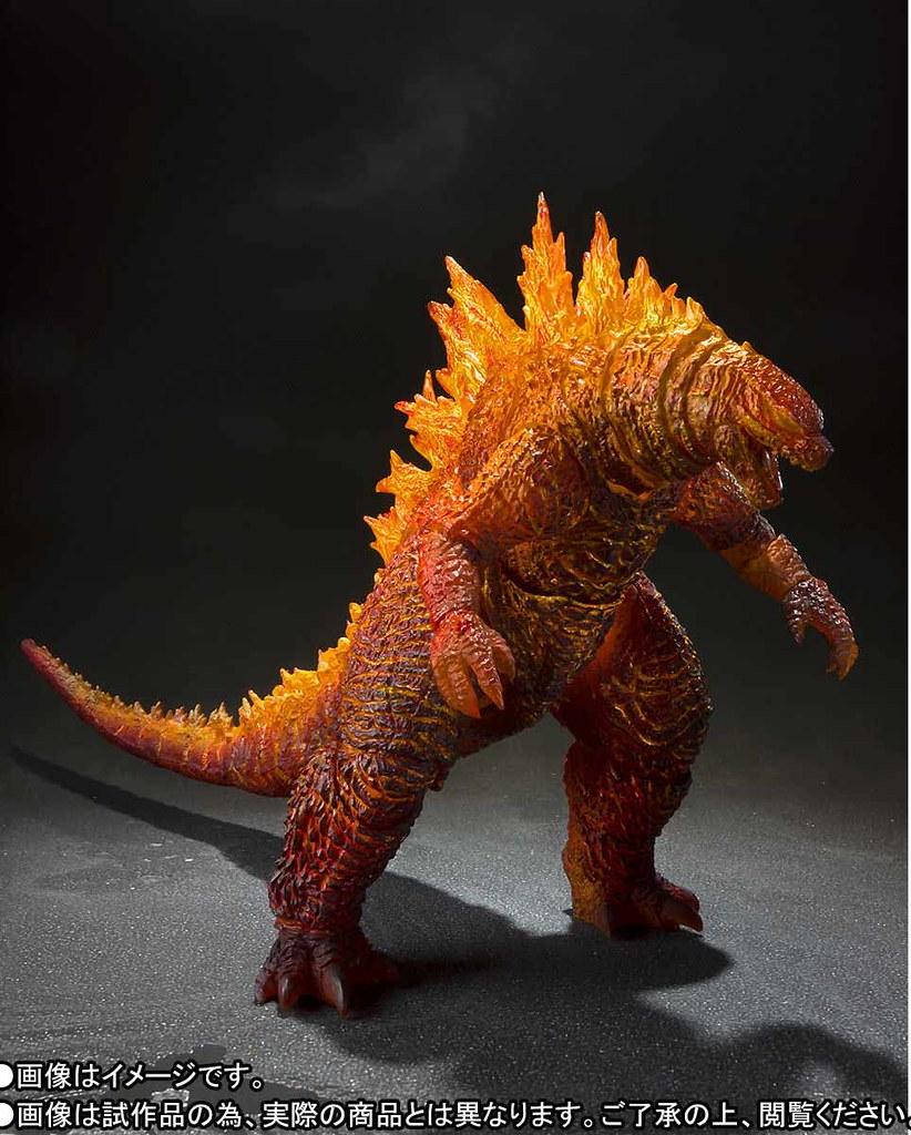 壓倒性力量的燃燒姿態!S.H.MonsterArts《哥吉拉2:怪獸之王》紅蓮哥吉拉(2019)|バーニング・ゴジラ(2019)【PB限定】
