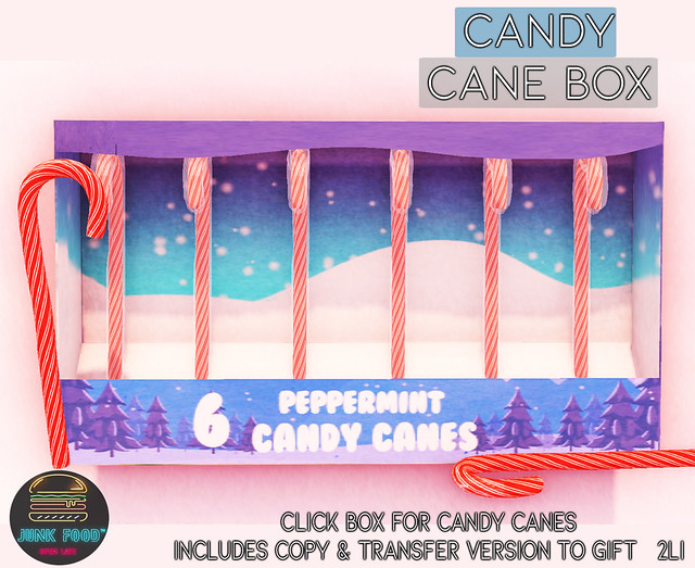 Junk Food - Candy Cane Box