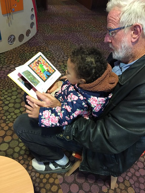 Reading at Scotts Valley Library