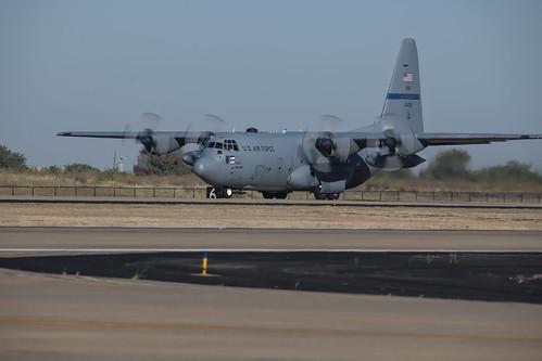 Texas ANG C-130 Landed